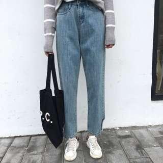 READYSTOCK Highwaist Basic Jeans