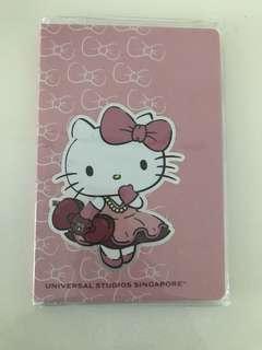 Universal studios Singapore Hello kitty notebook
