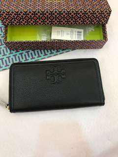 (RS)Original Tory Burch Thea Multi Gusset Zip Continental Wallet