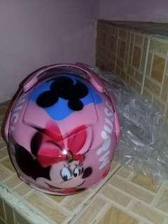 HELM baby pink SNI