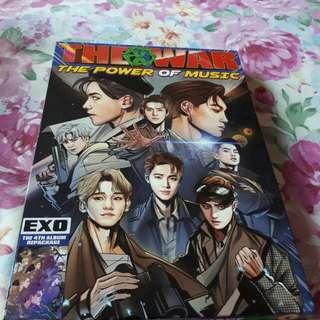 Album EXO: The War The Power of Music