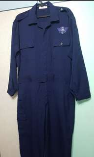 Airport Emergency Service Coverall