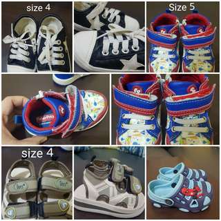 preloved shoes for 1 year old boy