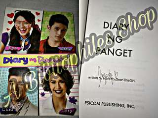 Wattpad: Diary ng Panget Book 1-4 New and Signed