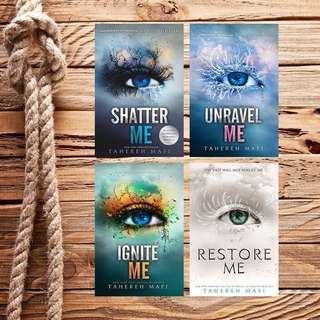 FREE! Shatter Me Series by Tahereh Mafi