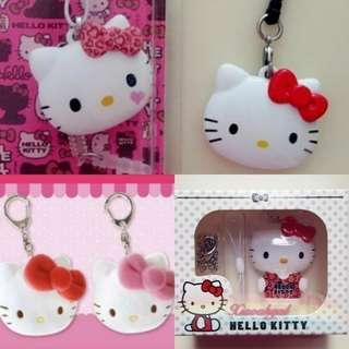 🔶$24.90⏩FOLLOWERS ONLY🔶🐰AUTHENTIC BRAND NEW IN BOX🐰 SANRIO ORIGINAL HELLO KITTY RED EZLINK Ez link/ keychain/bagcharm with hook & chain ball💋No pet No smoker Clean hse💋