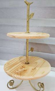 Rental for 2 tier Cake Stand