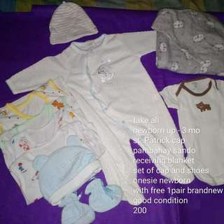 Repriced! Take all newborn clothes