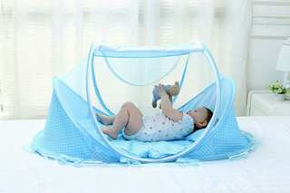 3 IN1 Foldable BABY BED *LARGE SIZE *