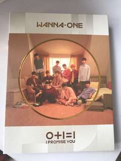 WANNAONE I PROMISE U UNSEALED W/ OFFICIAL POSTER