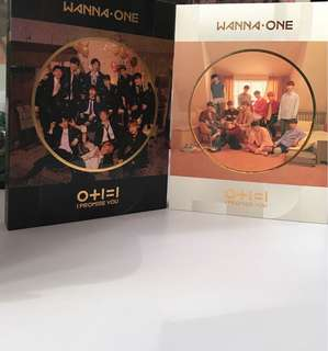 WANNA ONE IPU UNSEALED DAY AND NIGHT W/ OFFICIAL POSTER
