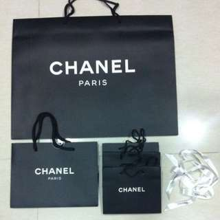 Authentic CHANEL Paper Bags