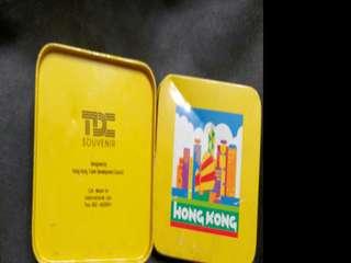 香港貿易發展局 杯墊 懷舊