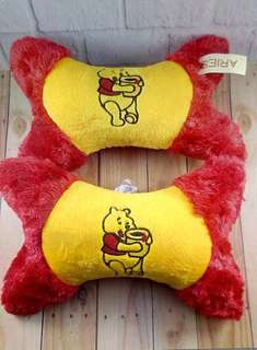 Head rest /bantal mobil / tulang mobil / car set