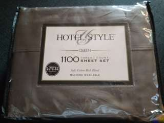 Imported US bedsheet (1100 thread count)