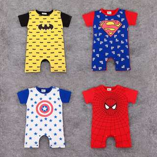 Superhero-inspired Baby Romper (Our little Heroes)