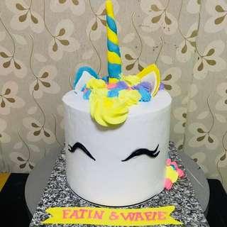 Choc cake tema unicorn