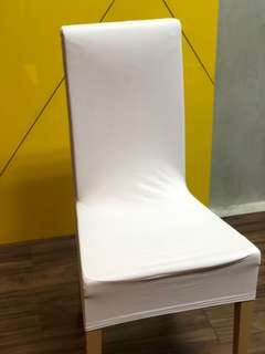 Lycra seat cover (White)