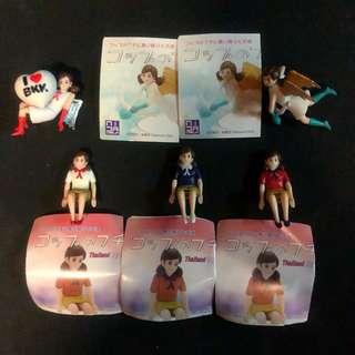 杯緣子 泰國 限定 限量 Thailand toy expo 第一代 第二代 一套5隻 不散賣