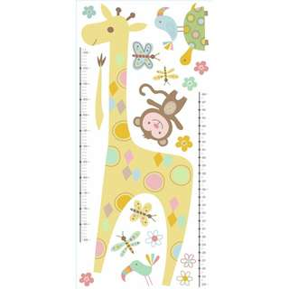 RMK3543GM – Tribal Baby Animal Growth Chart