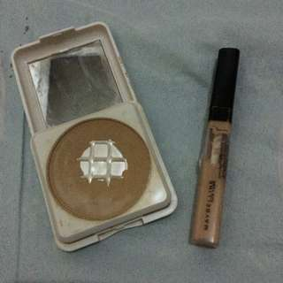 Maybelline concealer with free powder