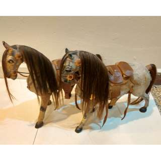 Beautiful Wooden Horses