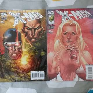 X-Men Legacy #215-216 (Marvel)