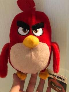 正版Angry Bird毛公仔