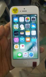 Iphone5 64gb factory unlock