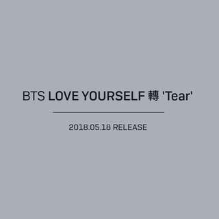 Non Profit PO BTS Love Yourself Tear