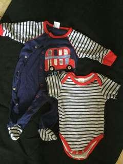 Set jumpsuit for baby boy