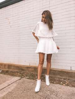 // billy j boutique - NEW white dress
