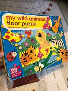 Blessings- Floor Puzzle - my wild animals floor puzzle