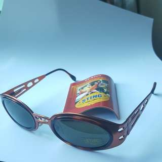 Sting Vintage Sunglasses SS4237 Color 536 Brand New Made in Italy