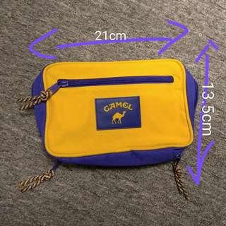 全新 Camel 駱駝牌 * 腰包 旅行 收納袋 証件袋 * $100