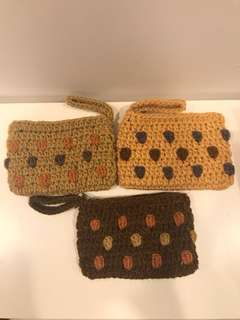 Handmade Purse - knitted