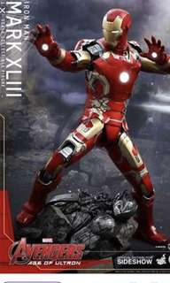 Hottoys Iron Man Mk 43 1:4 1比4