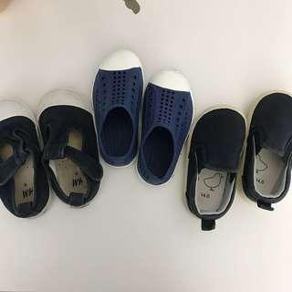 Toddler shoes H&M pumpkin patch muji