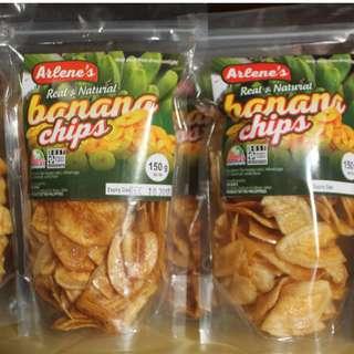 Arlene's Banana Chips 150g