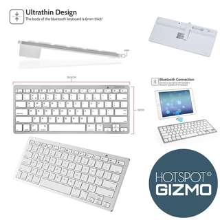 Ultra-slim Wireless Keyboard Bluetooth Keyboard