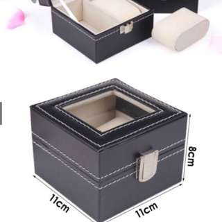 *FREE MAILING*INSTOCKS*2 Slots Watch Case - Showcase your watches