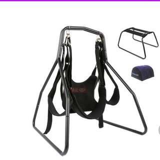 TOUGHAGE SEX SWING CHAIR PILLOW +ADJUSTABLE RESTRAINTS