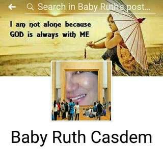 MANLOLOKONG SELLER Baby Ruth Casdem