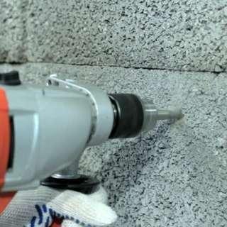 perkhidmatan tebuk dinding