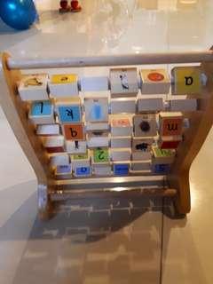 puzzle a b c