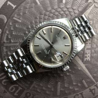 Vintage Rolex 1603 with rare grey/tropical sigma dial - stunning patina