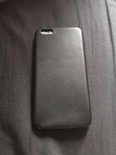 Black plain Iphone 8 plus casing