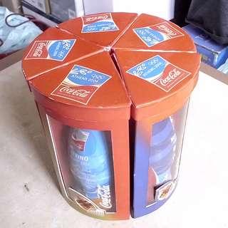 可口可樂04年香港雅典奧運包膠紀念版一套五枝