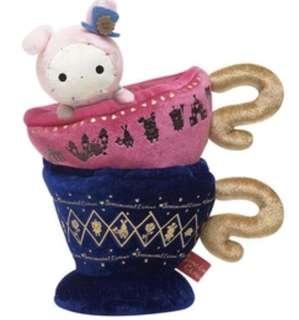 🚚 憂傷馬戲團 深情馬戲團 SAX- X絨毛置物咖啡杯(可放手機架 眼鏡架)