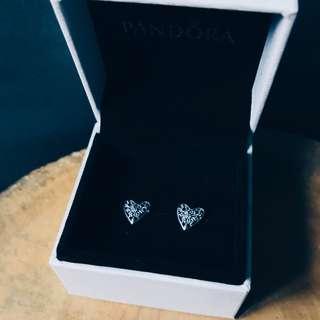 Pandora Heart of Winter Earring Studs